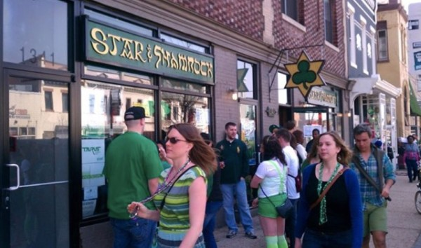 Star and Shamrock on St. Patrick's Day 2012 (Photo via Star and Shamrock)