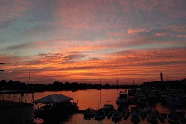 Sunset at Cantina Marina (Photo via Facebook/Cantina Marina)
