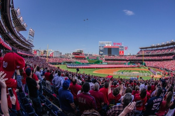 Nationals Park (Photo via Flickr/wolfkann)