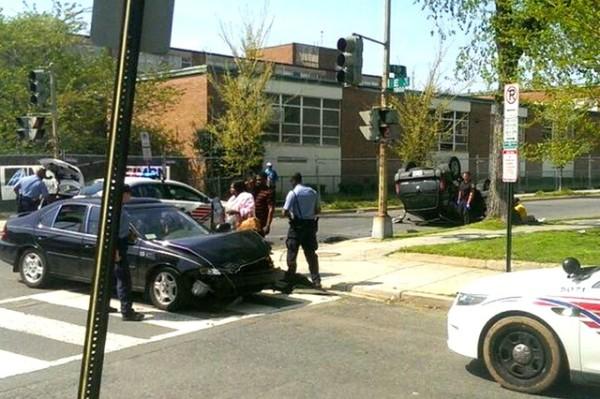 Car crash (Photo courtesy of Jade Stone)