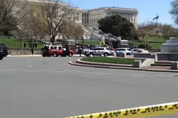 U.S. Capitol April 11, 2015 (Photo via Twitter/AMwekali)