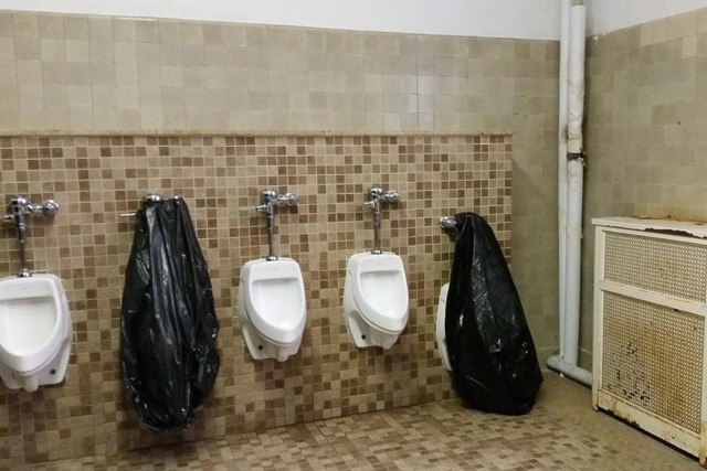 middle school bathroom. Eliot-Hine Middle School Bathroom (Photo Via Twitter/Heather Schoell) E