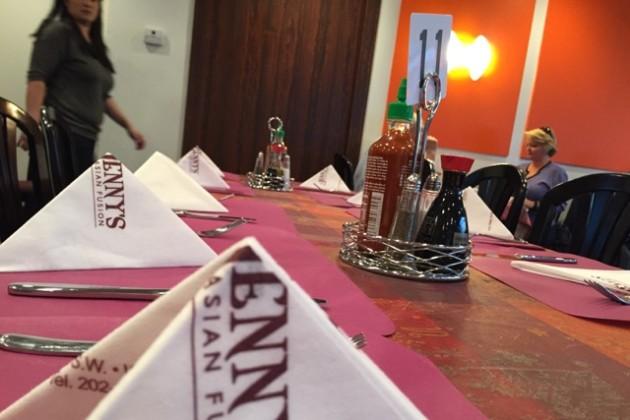Jenny's table