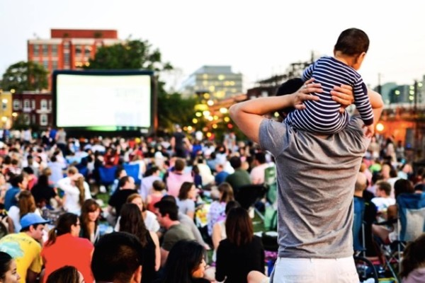 NoMa Summer Screen (Photo via Facebook/NoMaBID)