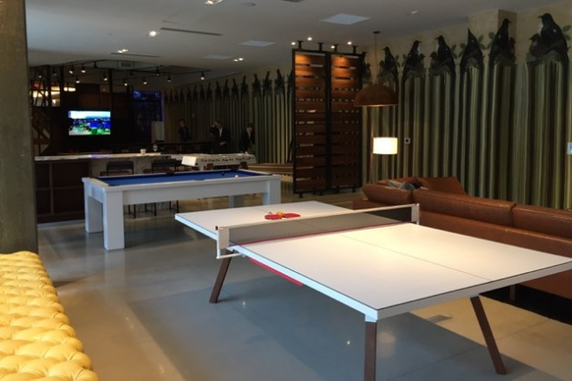 Station House game room