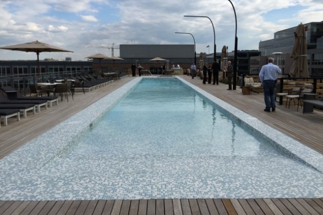 Station House rooftop pool