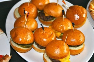 Matchbox mini hamburgers (Photo via Barracks Row Main Street)