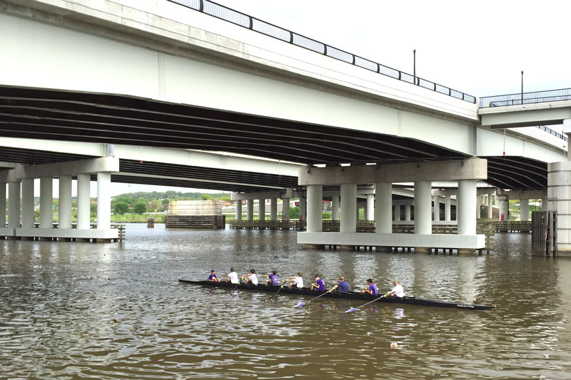 Rowers on the Anacostia River
