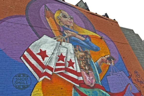 Mural on 8th Street SE