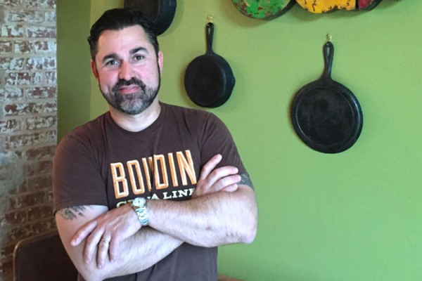 Bayou Bakery owner and chef David Guas