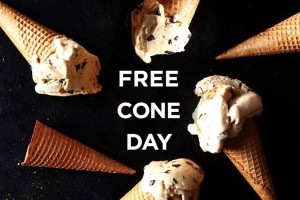 Free Cone Day (Photo via Facebook/HaagenDazs US)