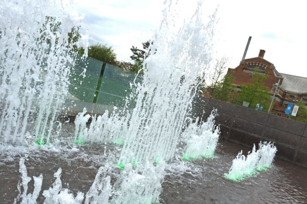 Fountain in Yards Park
