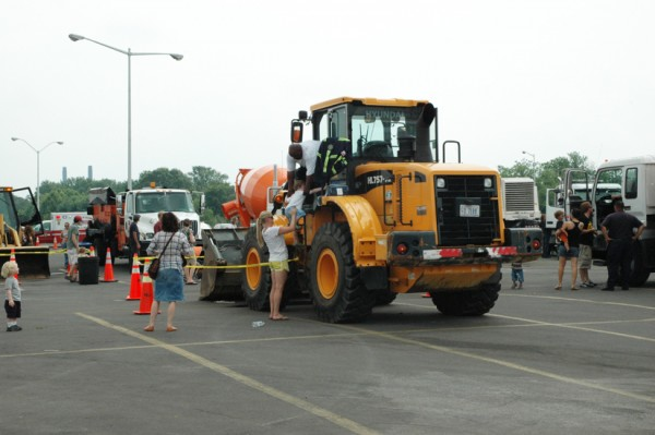 Construction truck at RFK Stadium at the 2010 D.C. Truck Touch (Photo via Flickr/DCDPW)