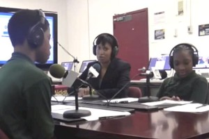 Eliot Hine Network interview with Mayor Muriel Bowser (Photo via Ustream/Eliot Hine Network)