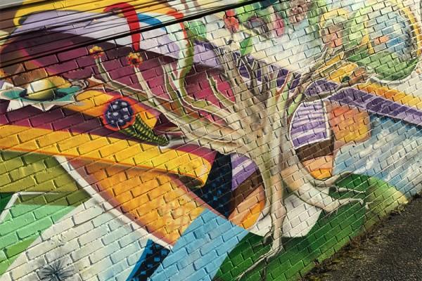 M Street NE street art