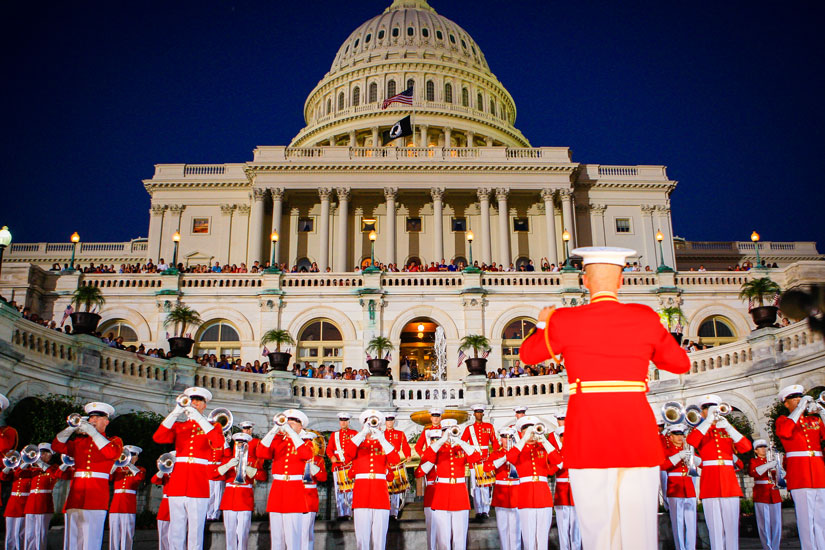 """A Capitol Fourth"" in 2010 (Photo via PBS)"