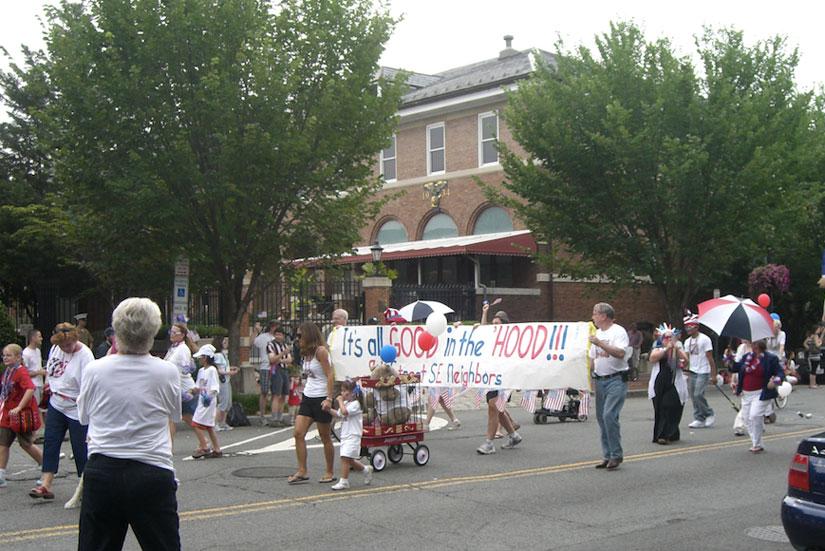 Barracks Row parade (Photo via Picasa/Barracks Row Main Street)
