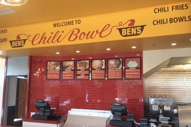 Interior of Ben's Chili Bowl on H Street NE (Photo via Bens Chili's Bowl)