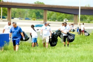 Cleanup (Photo via Anacostia Watershed Society)