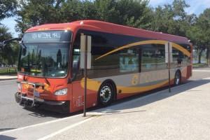 D.C. Circulator bus (Photo via Twitter/D.C. Circulator)