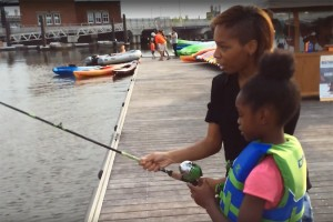 Friday Night Fishing (Image via YouTube/Anacostia Riverkeeper)