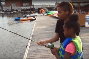 Friday Night Fishing (Image via YouTube/Anacostia Riverkeeper)