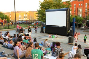 Family Film Night (Photo via the NoMa Business Improvement District)