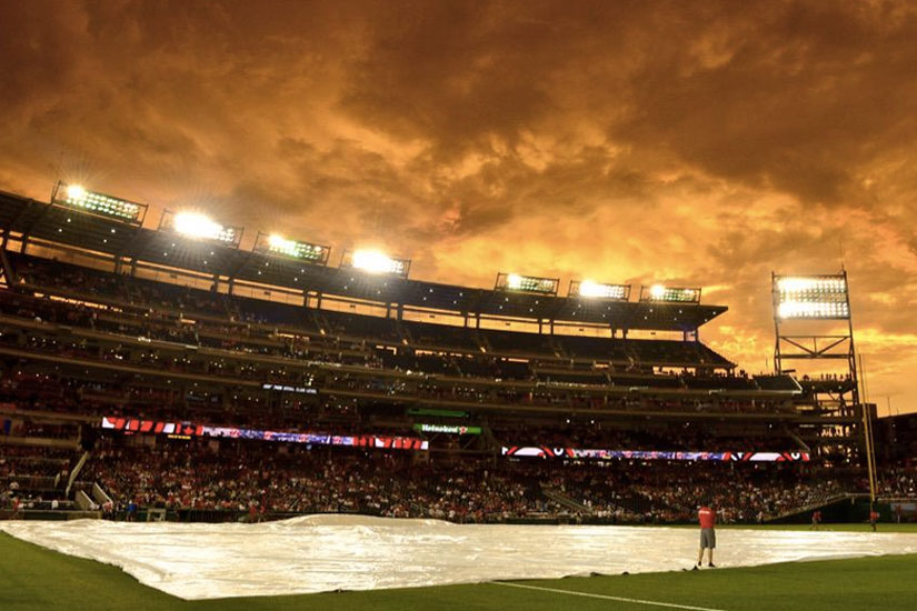 Nationals game on June 23, 2015 (Photo via Twitter/Nationals)