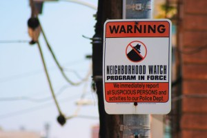 Neighborhood Watch sign (Photo via Flickr/Antti T. Nissinen)