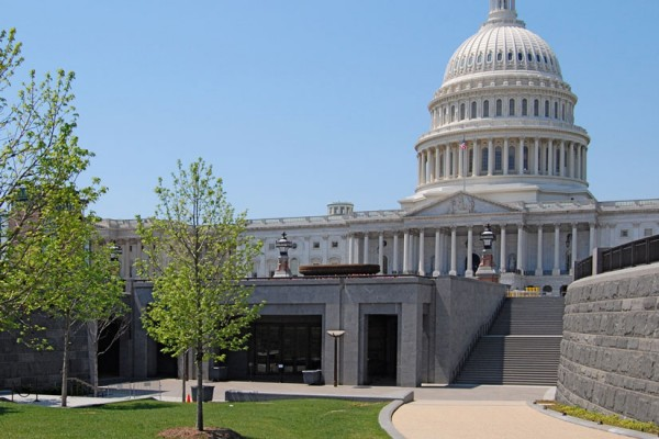 U.S. Capitol Visitor Center (Photo via Wikimedia/Fletcher6)
