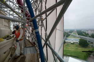 U.S. Capitol Dome Restoration (Photo via Flickr/Architect of the Capitol)