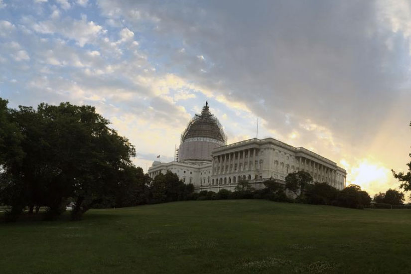 U.S. Capitol (Photo via Twitter/U.S. Capitol)