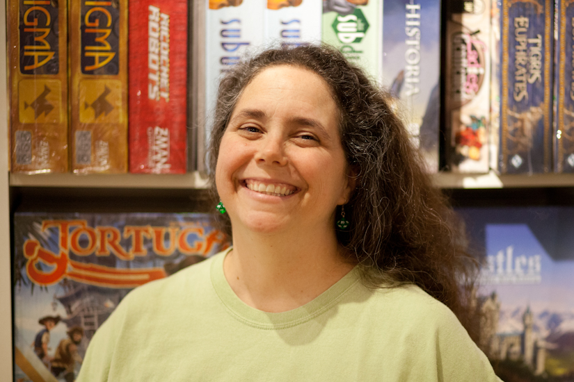 Labyrinth Games & Puzzles on owner Kathleen Donahue