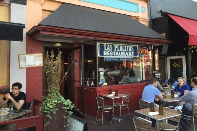 Las Placitas Restaurant at 517 8th St. SE before it closed