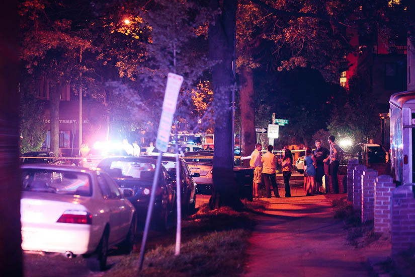 900 block of 3rd Street NE after shooting July 12, 2015