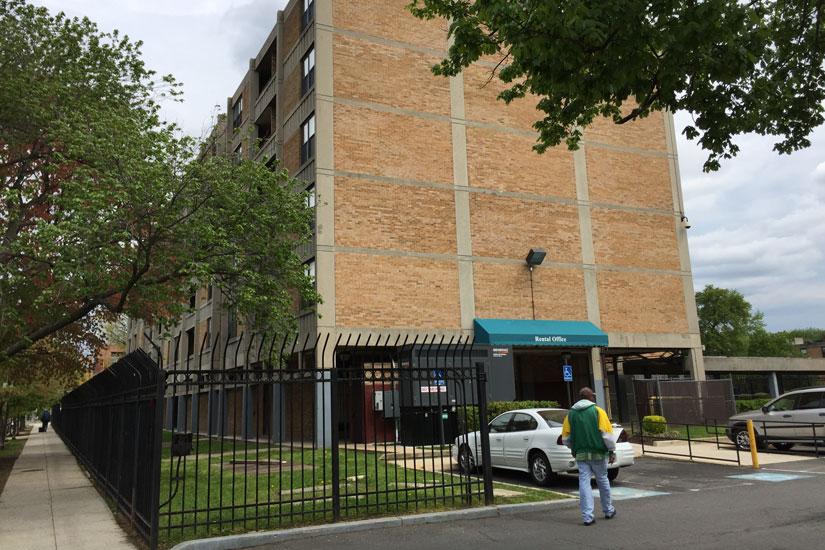 Potomac Gardens public housing complex