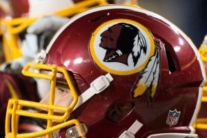 Redskins helmet (Photo via Flickr/Keith Allison)
