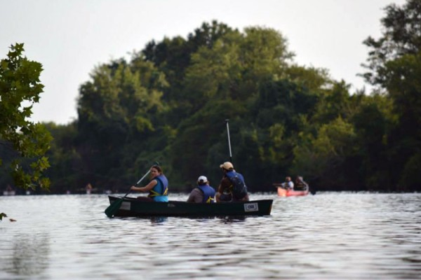 Anacostia River canoeing (Photo via Facebook/Anacostia Watershed Society)