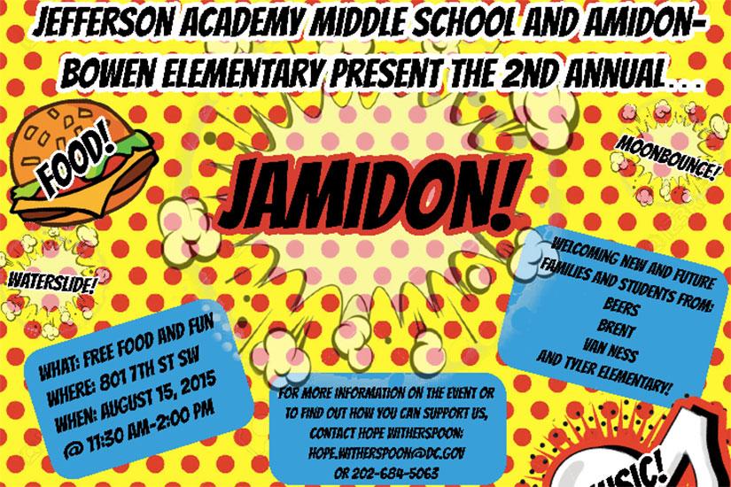 Jamidon (Image via Jefferson Academy Middle School)