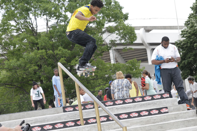 Maloof Skate Park (Photo via Events DC)
