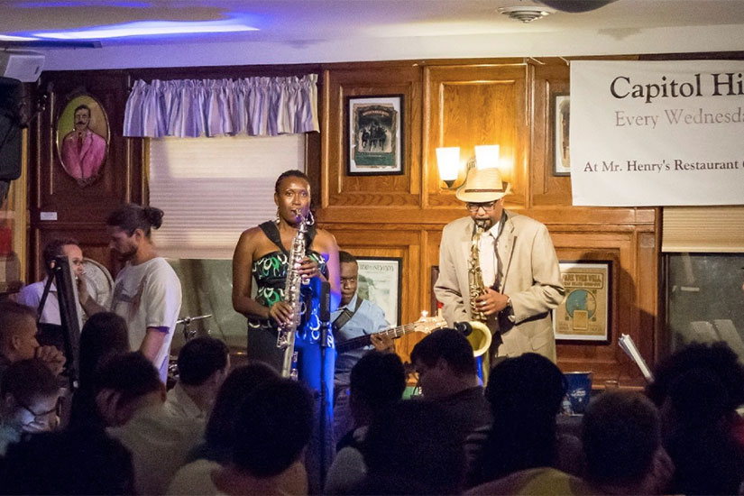 Mr. Henry's Restaurant Capitol Hill Jazz Jam (Photo via Facebook/Mr. Henry's Restaurant)
