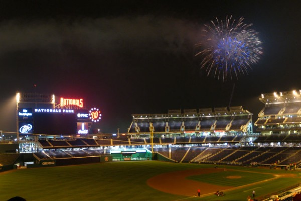 Nationals fireworks (Photo via Flickr/Rudi Riet)