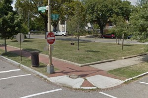 Pocket park at North Carolina Avenue, 15th Street and Constitution Avenue NE (Photo via Google Maps)
