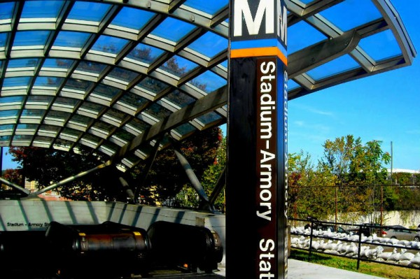 Stadium-Armory Metro Station (Photo via Flickr/NCinDC)