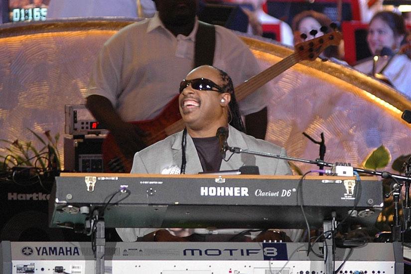 Stevie Wonder (Photo via Wikimedi)