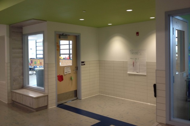 New classrooms at Van Ness Elementary.