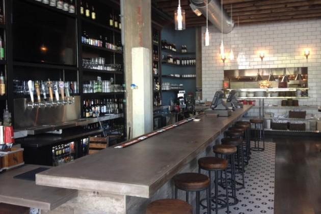 The bar at Due South