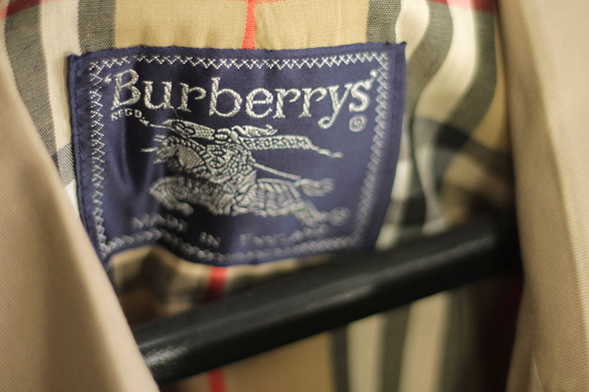 Burberry coat (Photo via Flickr/Robert Sheie)