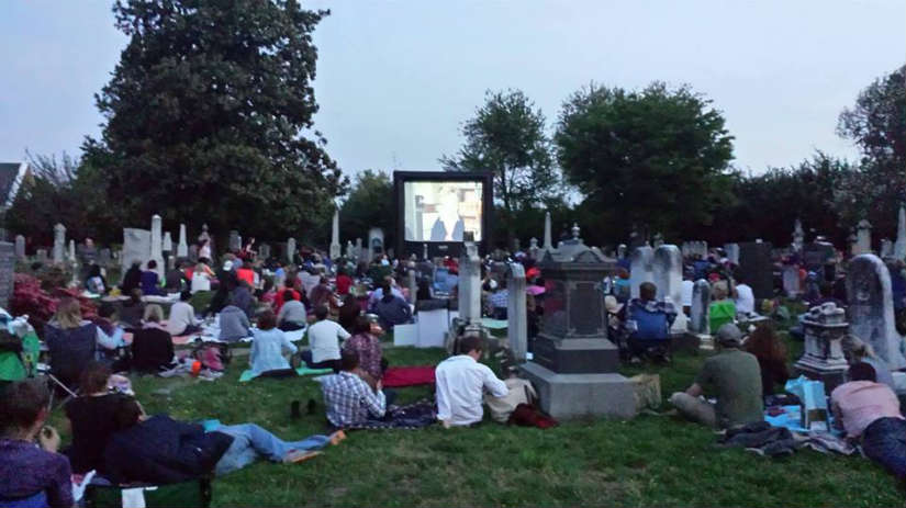 Cinematery at Congressional Cemetery (Photo via Facebook/ Congressional Cemetery)