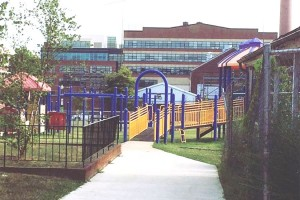 Joy Evans Recreation Center playground (Photo via Facebook/Navy Yard Neighborhood Association)